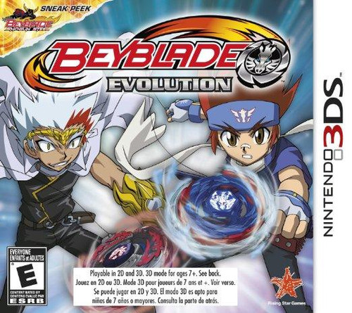 Nintendo 3DS Beyblade Evolution Exclusive Video Game