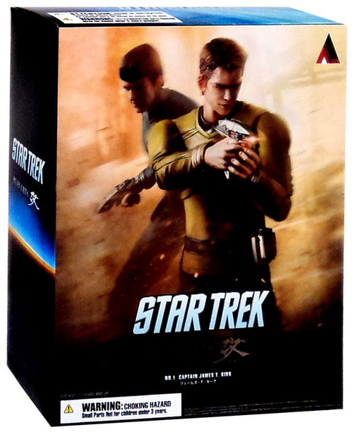 Star Trek Play Arts Kai Captain Kirk Action Figure