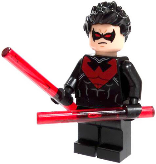 LEGO DC Universe Super Heroes Loose Nightwing Minifigure [Loose]