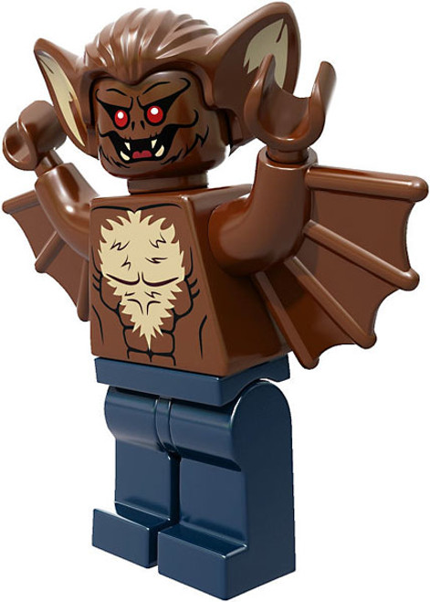 LEGO DC Universe Super Heroes Loose Man-Bat Minifigure [Loose]