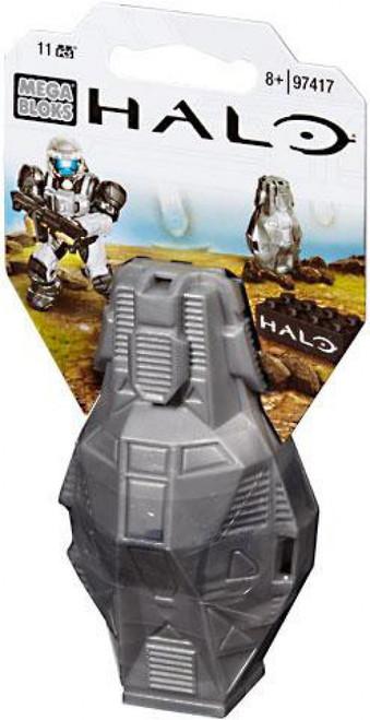Mega Bloks Halo Metallic ODST Drop Pod Set #97417 [Silver UNSC]