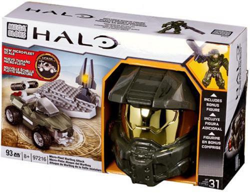 Mega Bloks Halo Micro-Fleet Scale Micro Fleet Warthog Attack Set #97216