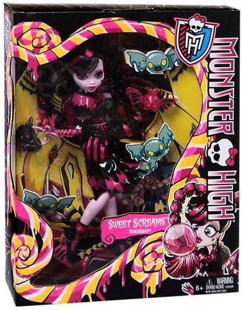 Monster High Sweet Screams Draculaura 10.5-Inch Doll