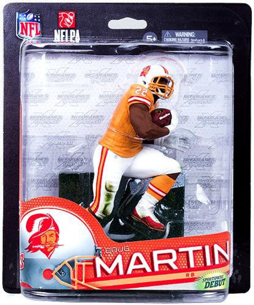 McFarlane Toys NFL Tampa Bay Buccaneers Sports Picks Series 33 Doug Martin Exclusive Action Figure [Orange Retro Uniform]