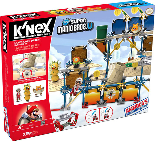 K'NEX New Super Mario Bros U Layer Cake Desert Set #38636