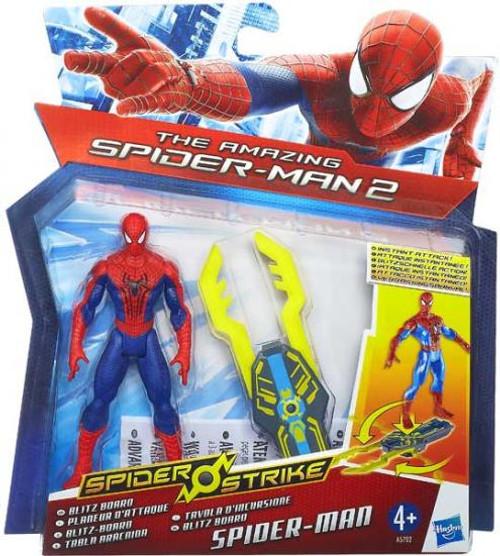 The Amazing Spider-Man 2 Spider Strike Blitz Board Spider-Man Action Figure