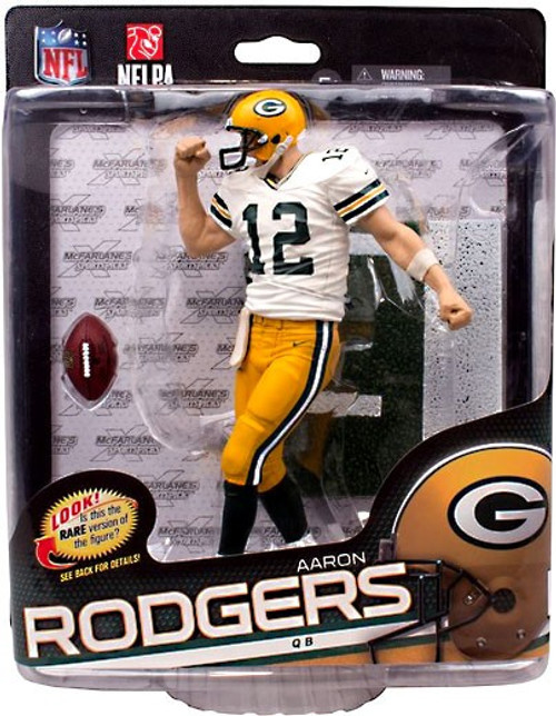 McFarlane Toys NFL Sports Picks Series 34 Aaron Rodgers (Green Bay Packers) Action Figure