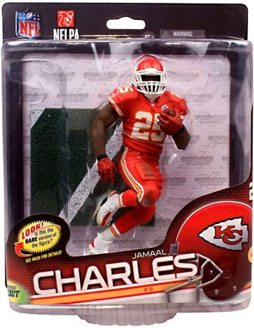 McFarlane Toys NFL Kansas City Chiefs Sports Picks Series 34 Jamaal Charles Action Figure