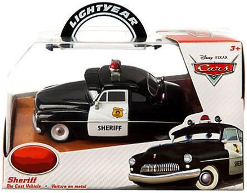 Disney Cars 1:43 Lightyear Sheriff Exclusive Diecast Car