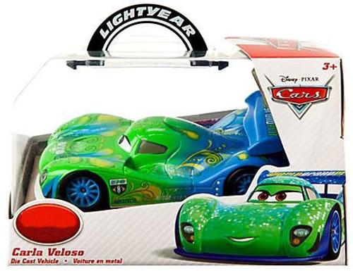 Disney Cars 1:43 Lightyear Carla Veloso Exclusive Diecast Car
