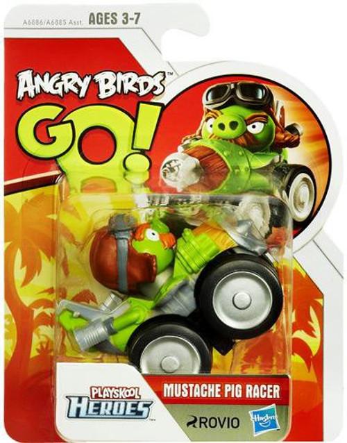 Angry Birds GO! Playskool Heroes Mustache Pig Racer Mini Figure