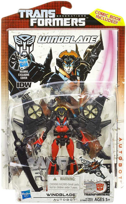 Transformers Generations 30th Anniversary Deluxe IDW Windblade Deluxe Action Figure