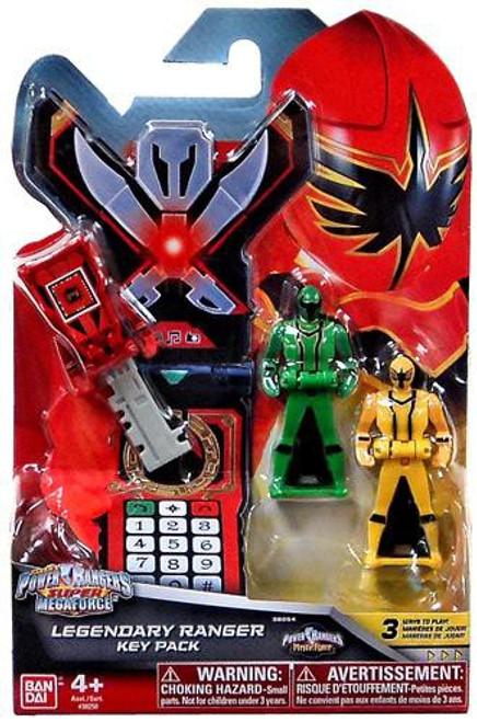 Power Rangers Super Megaforce Legendary Ranger Key Pack Roleplay Toy [Mystic Force]