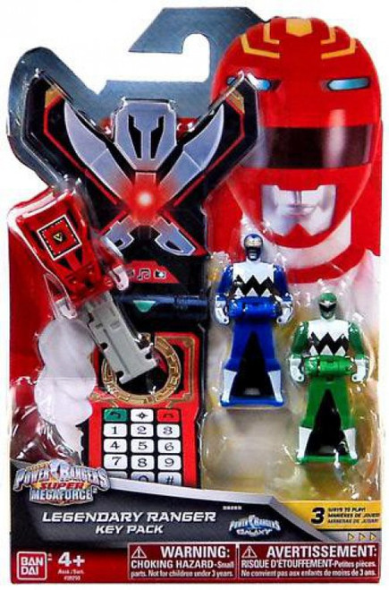 Power Rangers Super Megaforce Legendary Ranger Key Pack Roleplay Toy [Lost Galaxy]