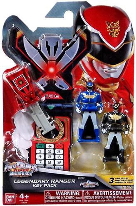 Power Rangers Super Megaforce Legendary Ranger Key Pack Roleplay Toy [Megaforce]
