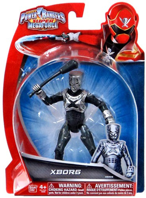 Power Rangers Super Megaforce XBorg Action Figure