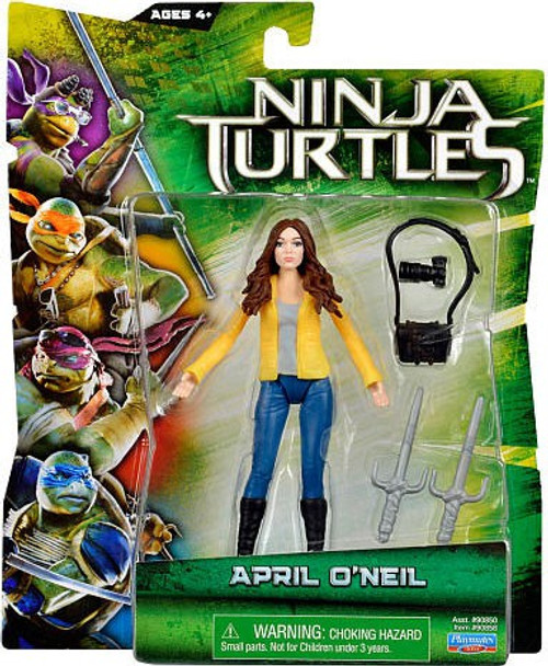 Teenage Mutant Ninja Turtles 2014 Movie April O'Neil Action Figure