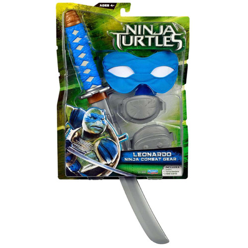 Teenage Mutant Ninja Turtles 2014 Movie Leonardo Ninja Combat Gear Roleplay Toy
