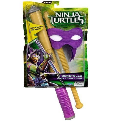 Teenage Mutant Ninja Turtles 2014 Movie Donatello Ninja Combat Gear Roleplay Toy