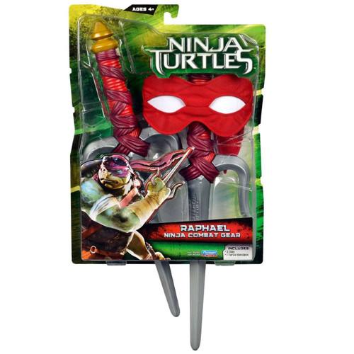 Teenage Mutant Ninja Turtles 2014 Movie Raphael Ninja Combat Gear Roleplay Toy