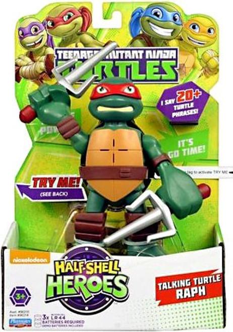 Teenage Mutant Ninja Turtles TMNT Half Shell Heroes Raphael Action Figure [With Sound]