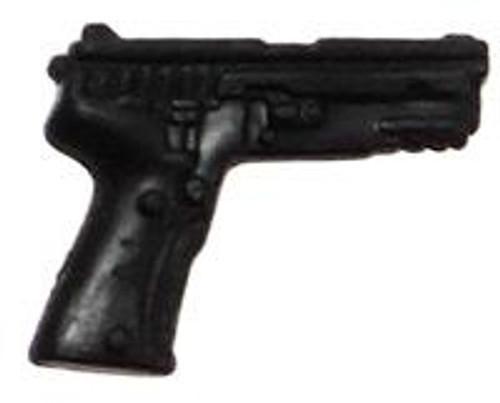 GI Joe Loose Weapons 9mm Pistol Action Figure Accessory [Black Loose]