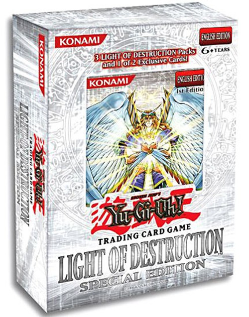 YuGiOh Light of Destruction Special Edition Pack [3 Booster Packs & 1 Random Promo Card] [Sealed]