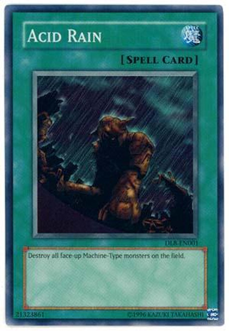 YuGiOh Duelist League Super Rare Acid Rain DL8-001