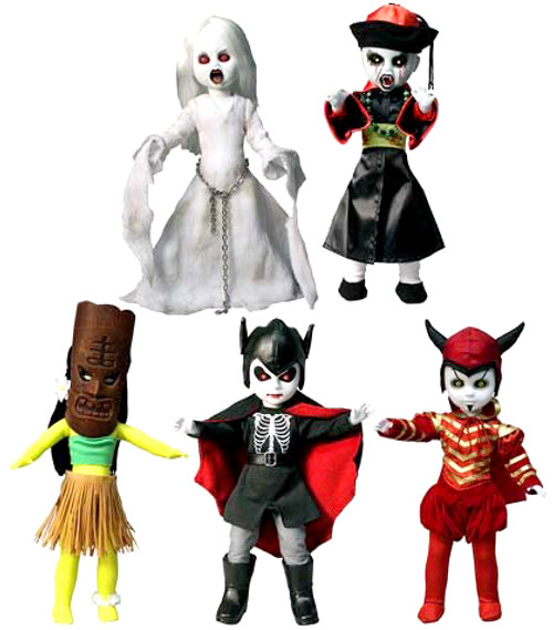 Living Dead Dolls Series 27 Set of 5 Dolls