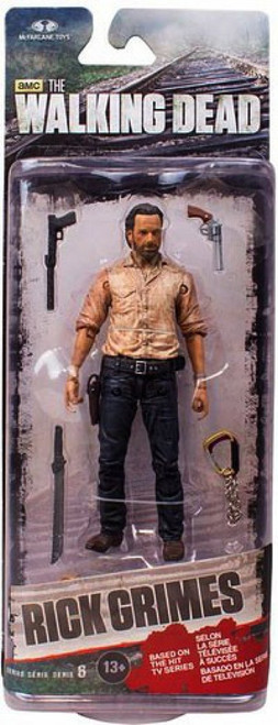 McFarlane Toys Walking Dead AMC TV Series 6 Rick Grimes Action Figure