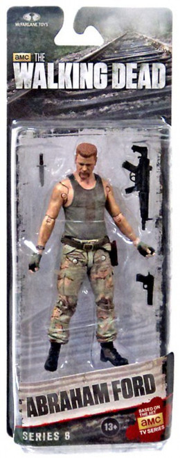 McFarlane Toys Walking Dead AMC TV Series 6 Abraham Ford Action Figure