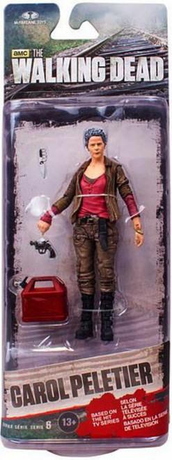 McFarlane Toys Walking Dead AMC TV Series 6 Carol Peletier Action Figure