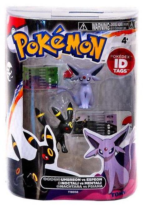 Pokemon Black & White Basic Umbreon vs. Espeon Figure 2-Pack