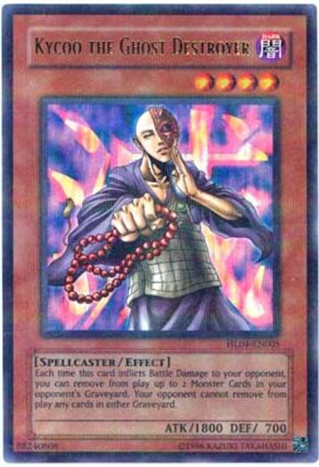 YuGiOh Hobby League Parallel Rare Kycoo the Ghost Destroyer HL04-EN005