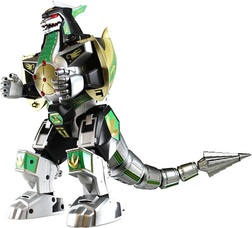 Power Rangers Mighty Morphin Legacy Series Legacy Green Dragonzord Action Figure (Pre-Order ships May)