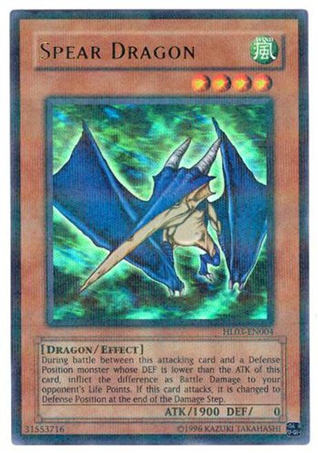 YuGiOh Hobby League Parallel Rare Spear Dragon HL03-EN004