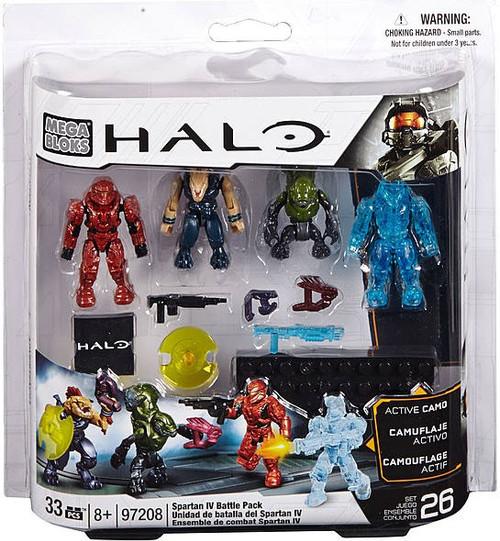 Mega Bloks Halo Spartan IV Battle Pack Set #97208