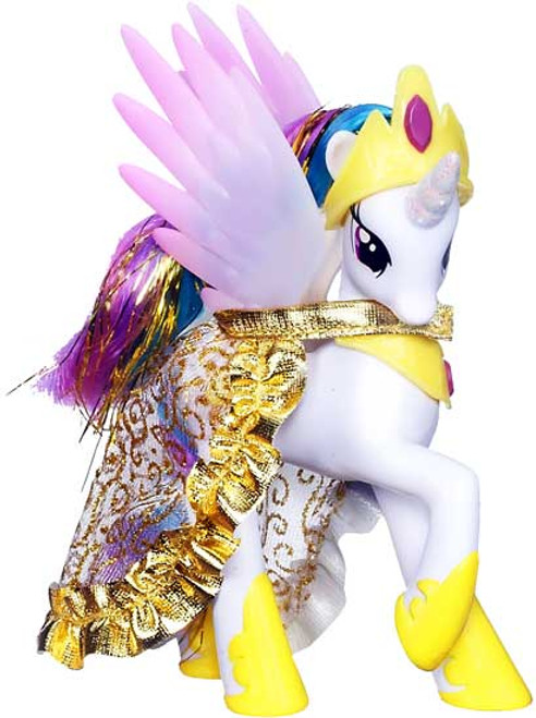 My Little Pony 3 Inch Loose Princess Celestia 5-Inch Collectible Figure [Removable Cape Loose]