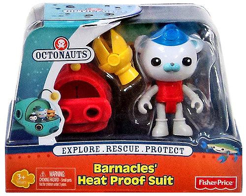 Fisher Price Octonauts Barnacle's Heat Proof Suit Figure Set