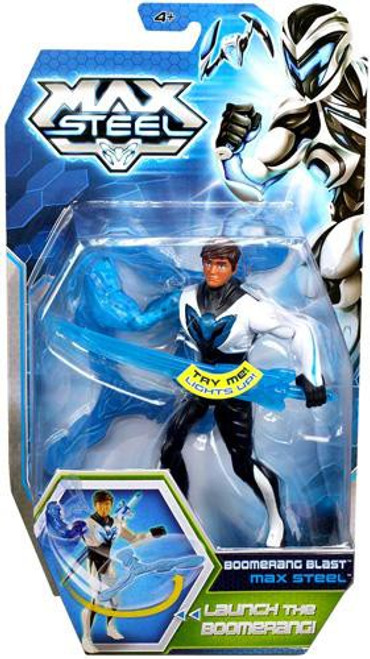 Max Steel Action Figure [Boomerang Blast]