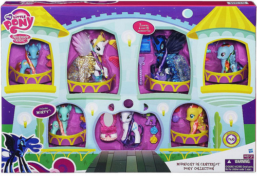 My Little Pony Friendship is Magic Exclusives Midnight in Canterlot Pony Collection Exclusive