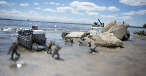 Mega Bloks Call Of Duty Landing Craft Invasion Set 06829