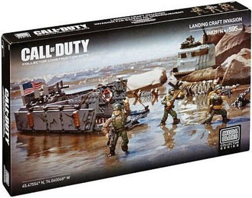 Mega Bloks Call of Duty Landing Craft Invasion Set #06829