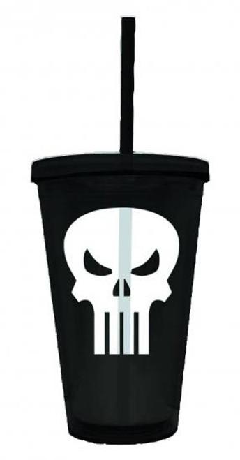 Marvel Punisher Symbol Acrylic Cup