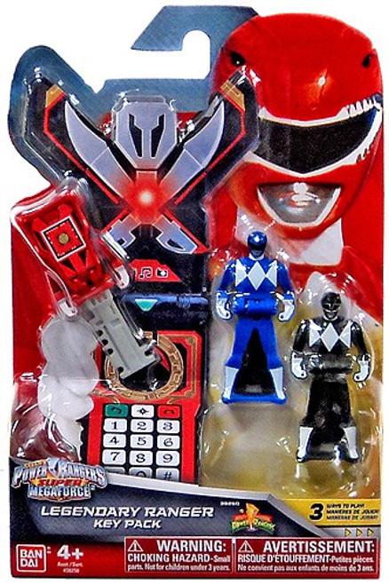 Power Rangers Super Megaforce Legendary Ranger Key Pack Roleplay Toy [Blue & Black]