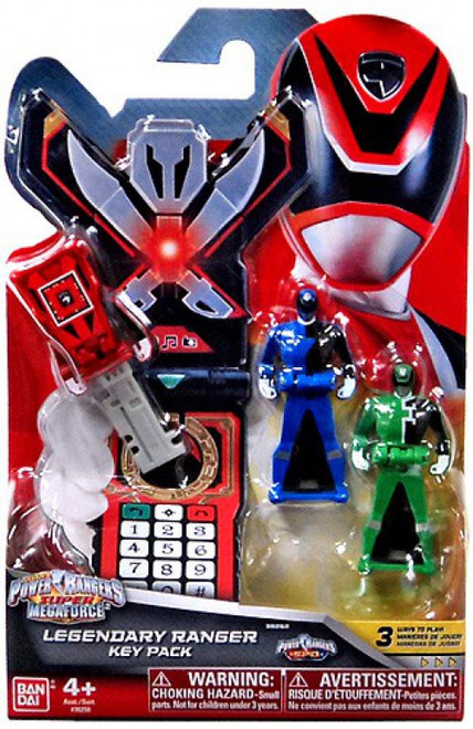 Power Rangers Super Megaforce Legendary Ranger Key Pack Roleplay Toy [SPD]