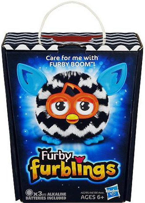 Furby Furblings Zigzag Figure [Black & White]