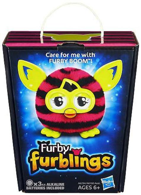Furby Furblings Stripes Figure [Pink & Black]