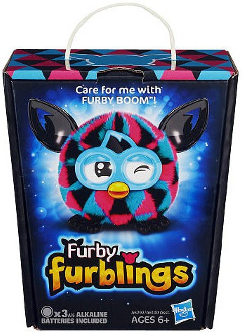Furby Furblings Triangles Figure [Pink, Black & Blue]