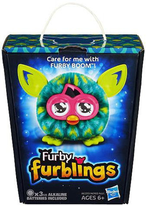 Furby Furblings Peacock Feather Figure [Green & Yellow]